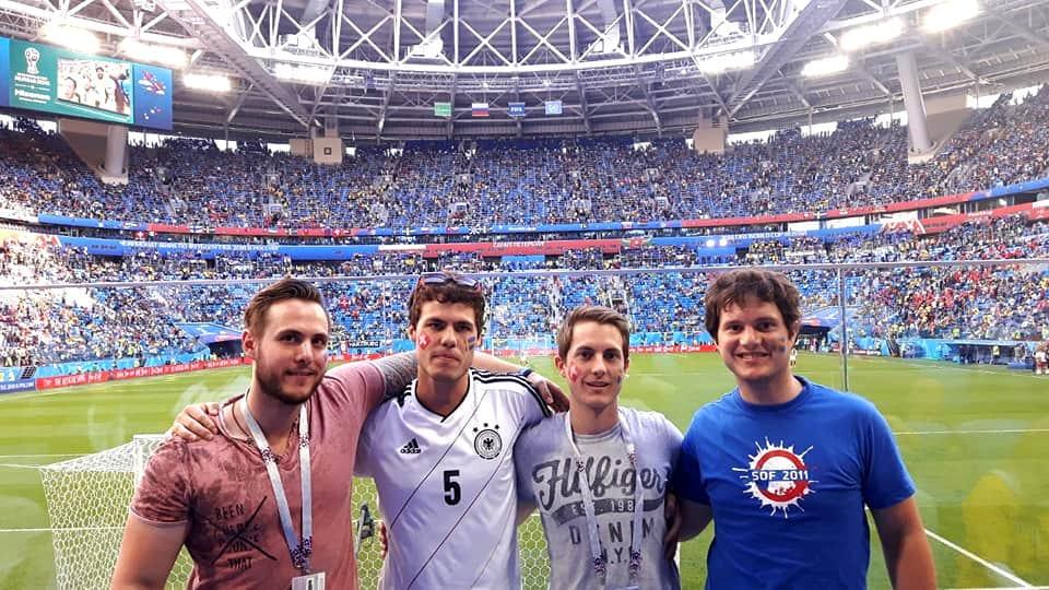 Schwabski, Russlandreise, Russland, Fussball Weltmeisterschaft, WM 2018, Fussball, Fussball-WM 2018, Sankt Petersburg, St. Petersburg
