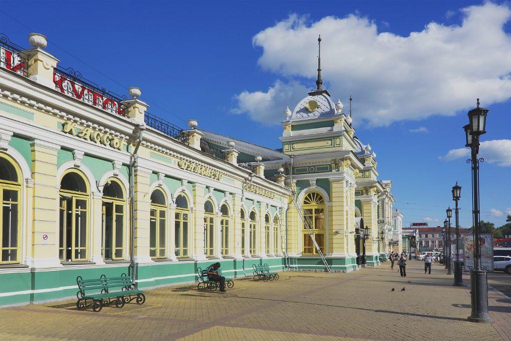 Hauptbahnhof Irkutsk