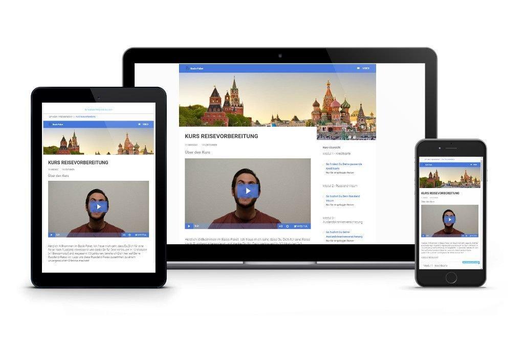 Basis-Paket Vorbereitung Russland-Reise