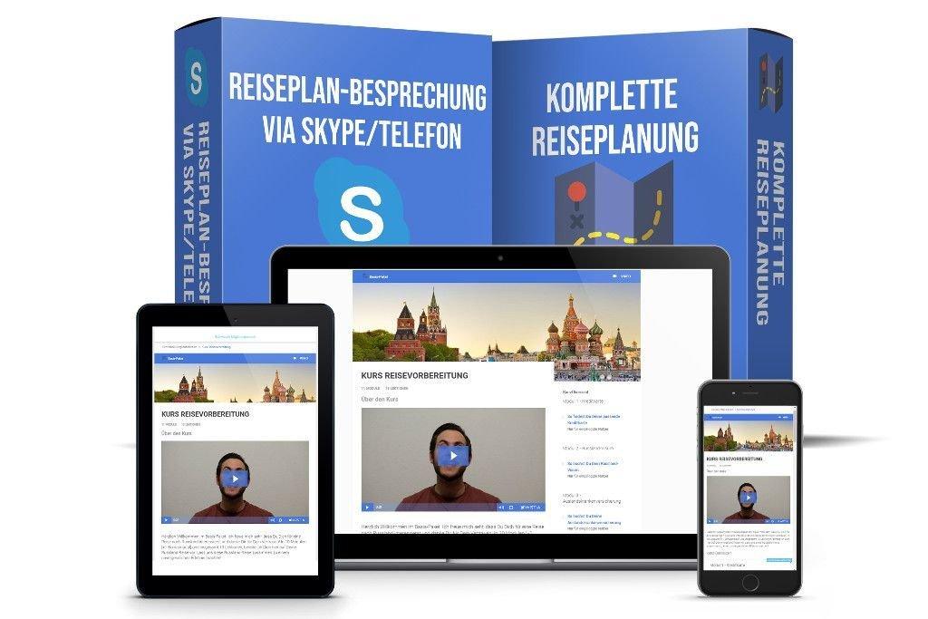 Komfort-Paket Vorbereitung Russland-Reise