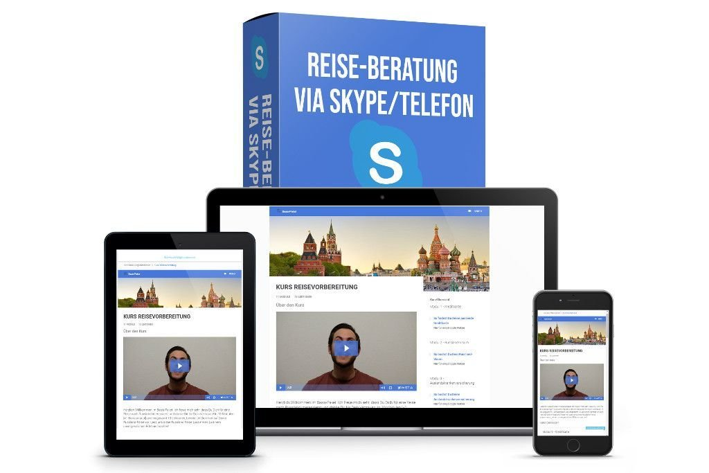 Das Premium-Paket für die Vorbereitung Deiner Russland-Reise