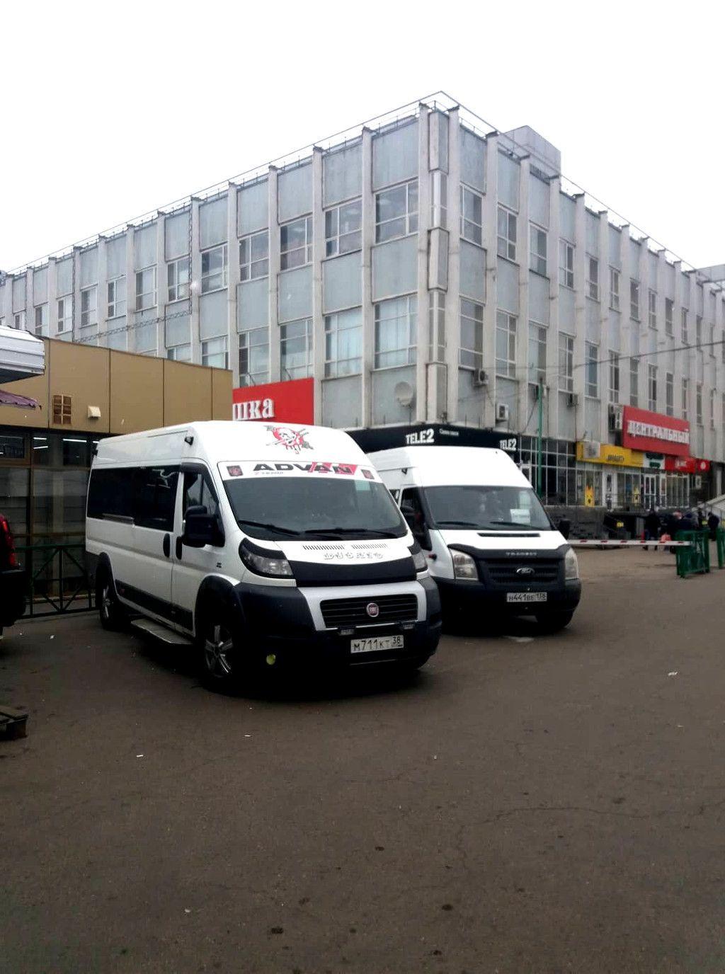 Minibusse in Irkutsk