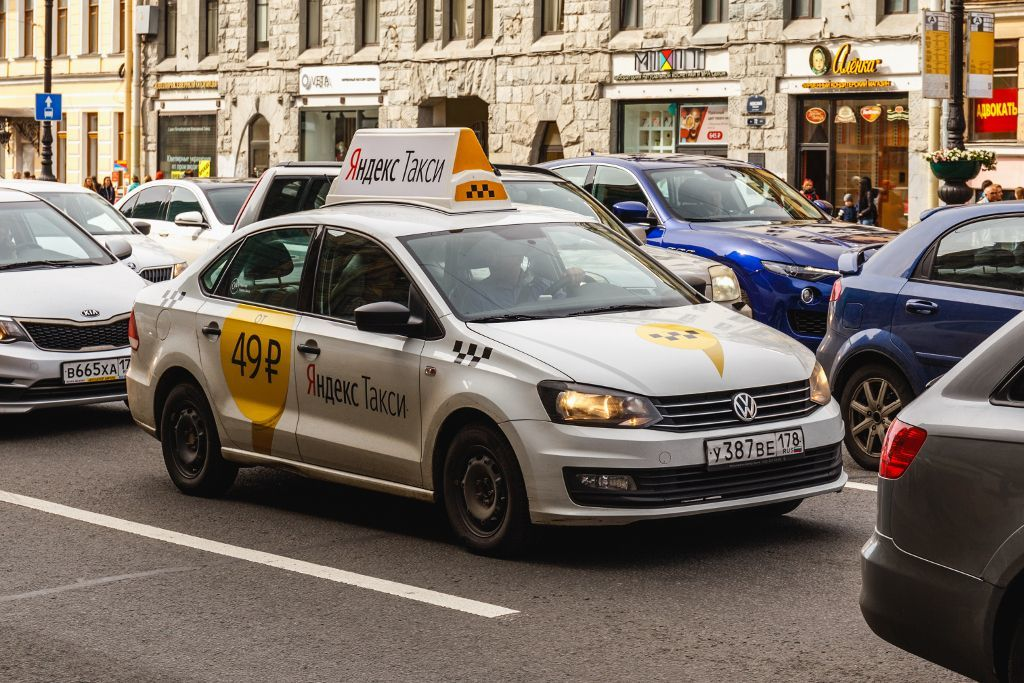 Taxi in Sankt Petersburg