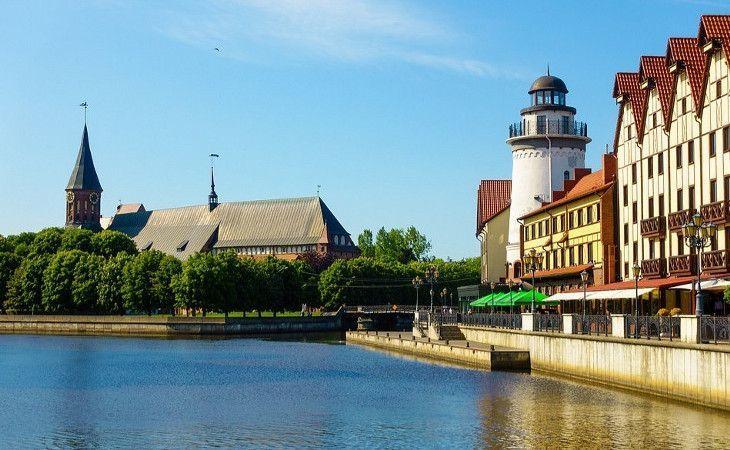 Uferpromenade in Kaliningrad