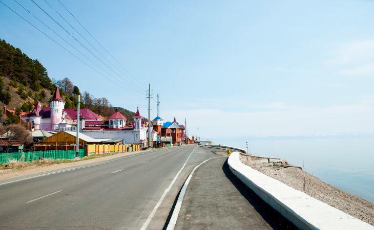 Listwjanka am Baikalsee