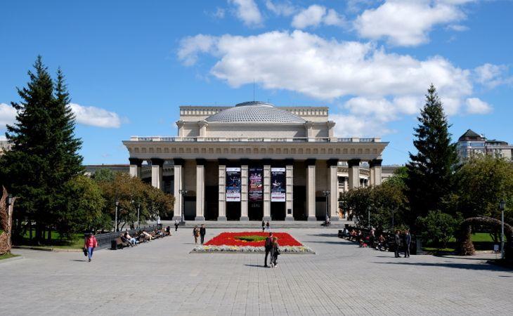 Theater- und Opernhaus in Nowosibirsk