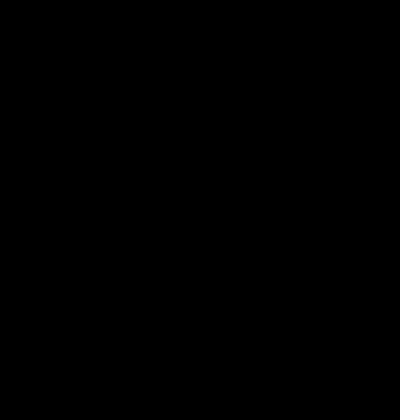 Buchstabe Л л [el] Schreibschrift russisches Alphabet
