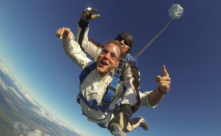 Mein Skydive in Sankt Petersburg