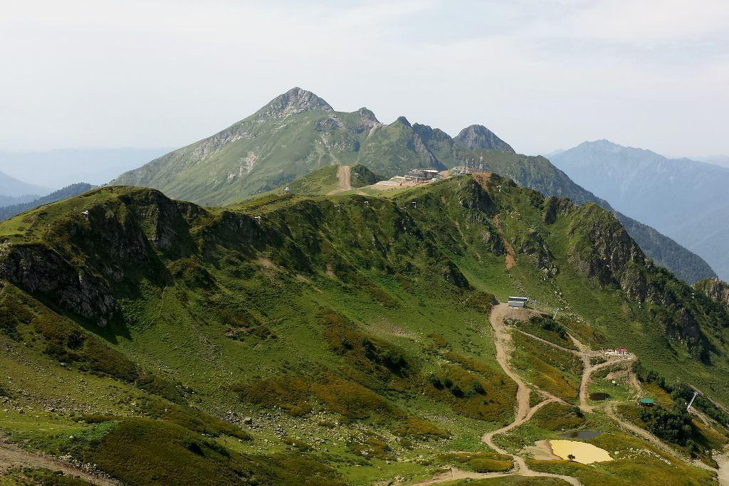 Berge von Krasnaya Polyana bei Sotschi