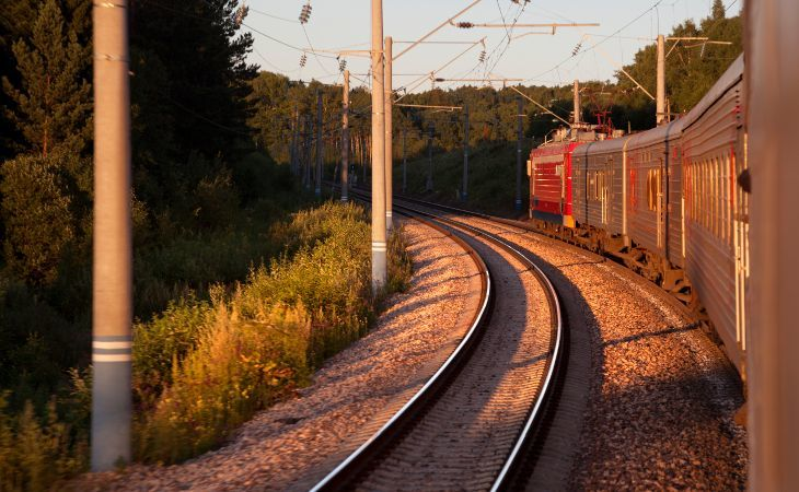 Transsibirische Eisenbahn - Zugwaggons