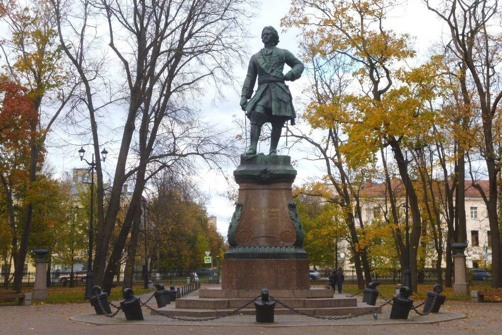 Denkmal in Kronstadt bei Sankt Petersburg