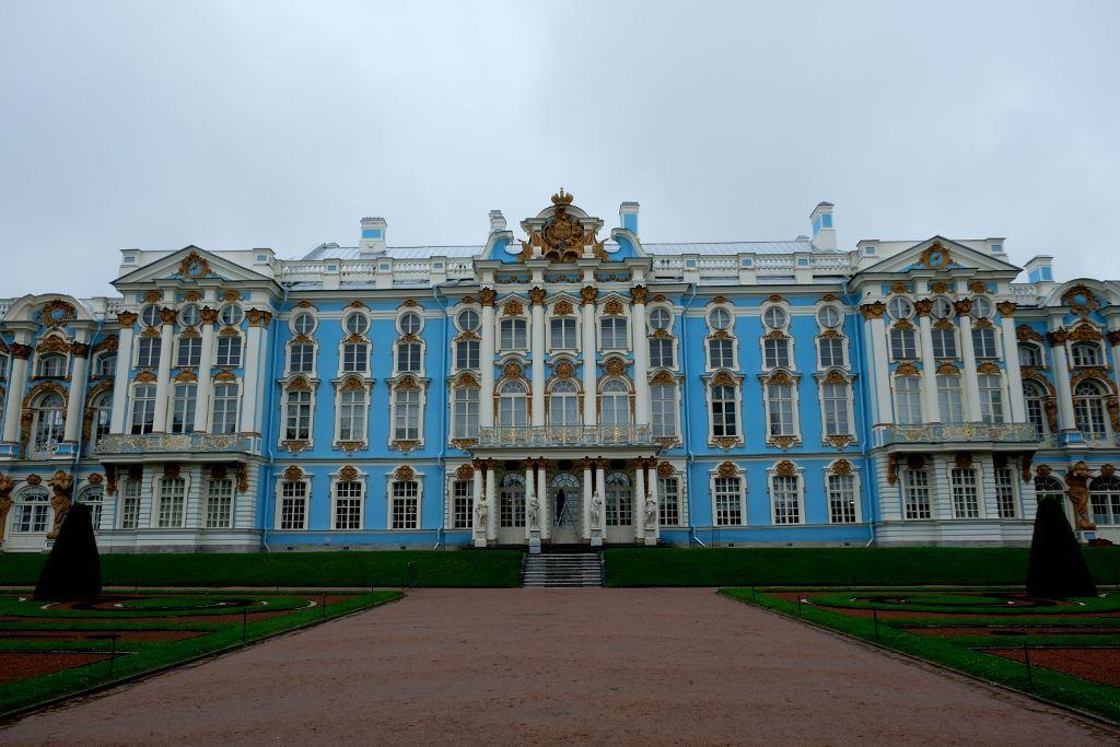 Der Katharinenpalast in Puschkin bei Sankt Petersburg