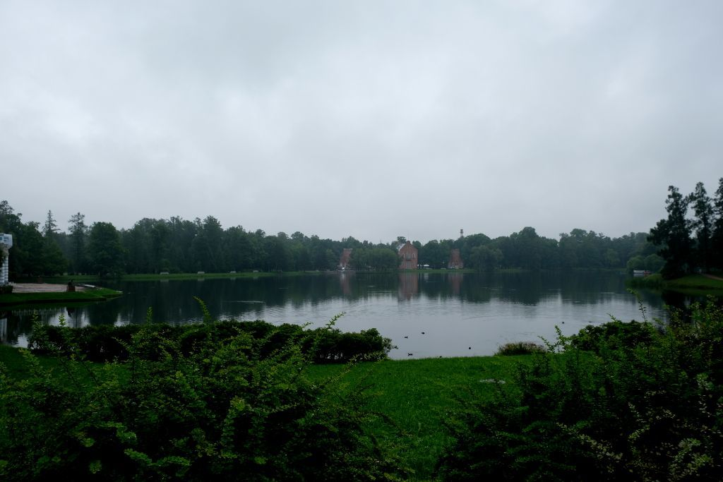 See im Park des Katharinenpalastes in Puschkin bei Sankt Petersburg