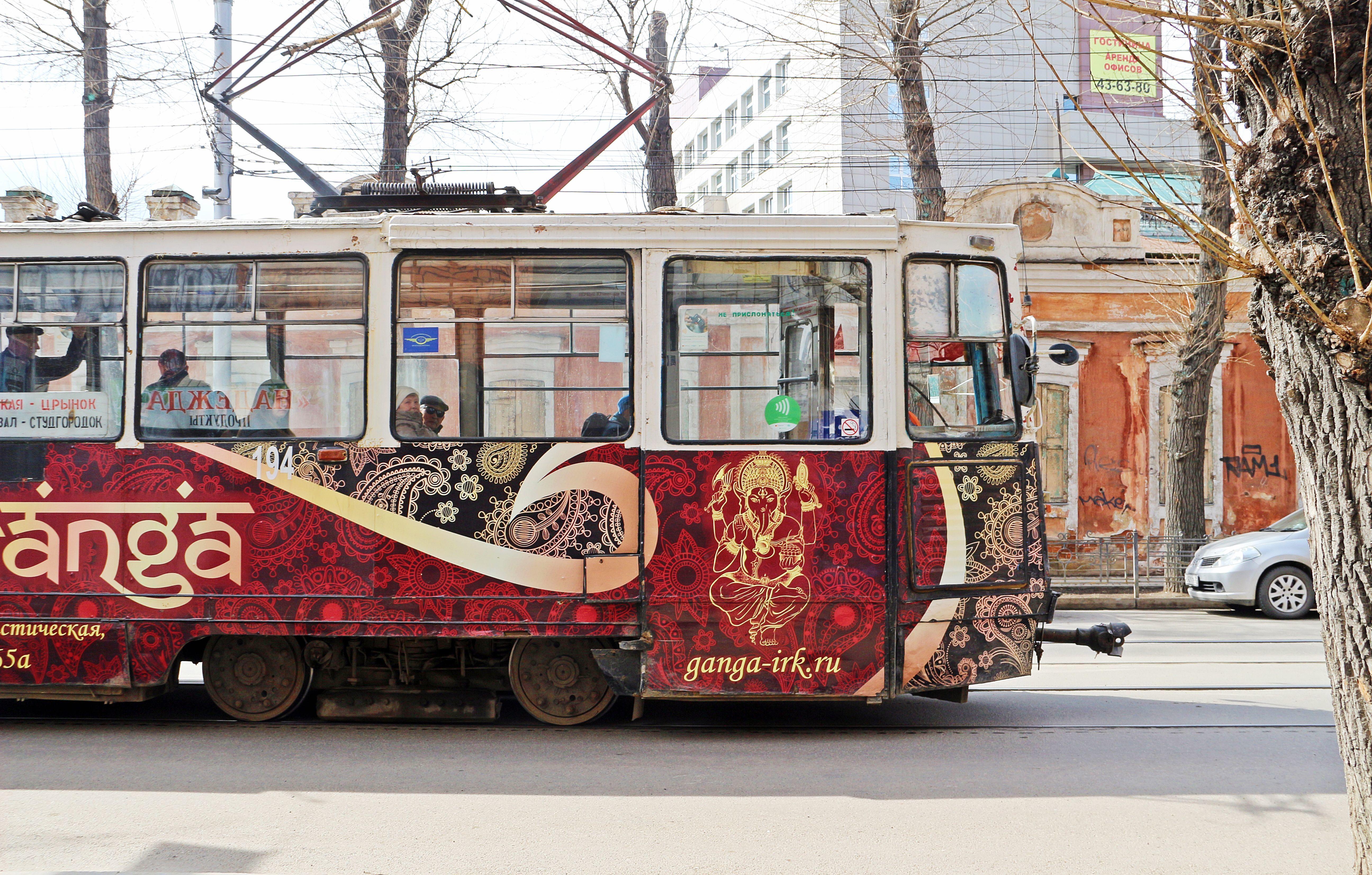 Straßenbahn in Irkutsk