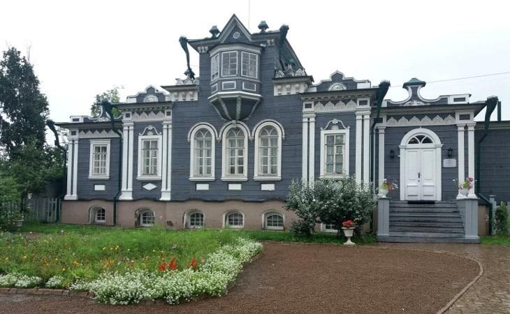 Das Dekabristenmuseum im Trubetskoy Familienhaus