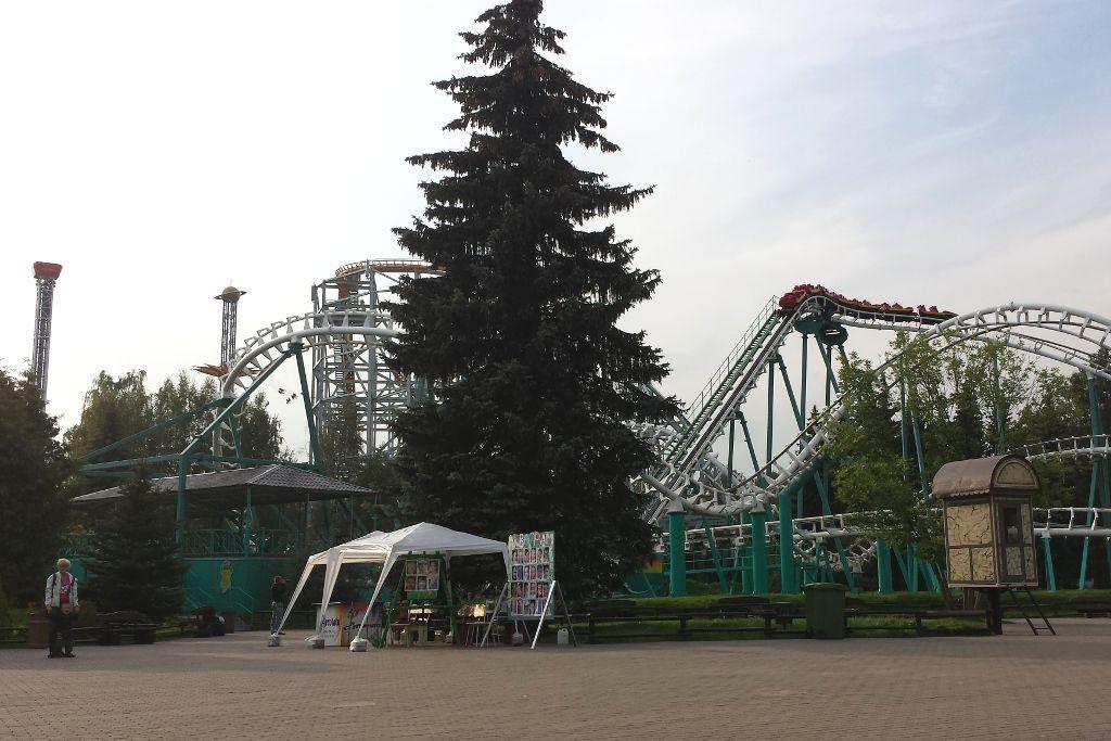 """Vergnügungspark """"Divo Ostrov"""" in Sankt Petersburg"""