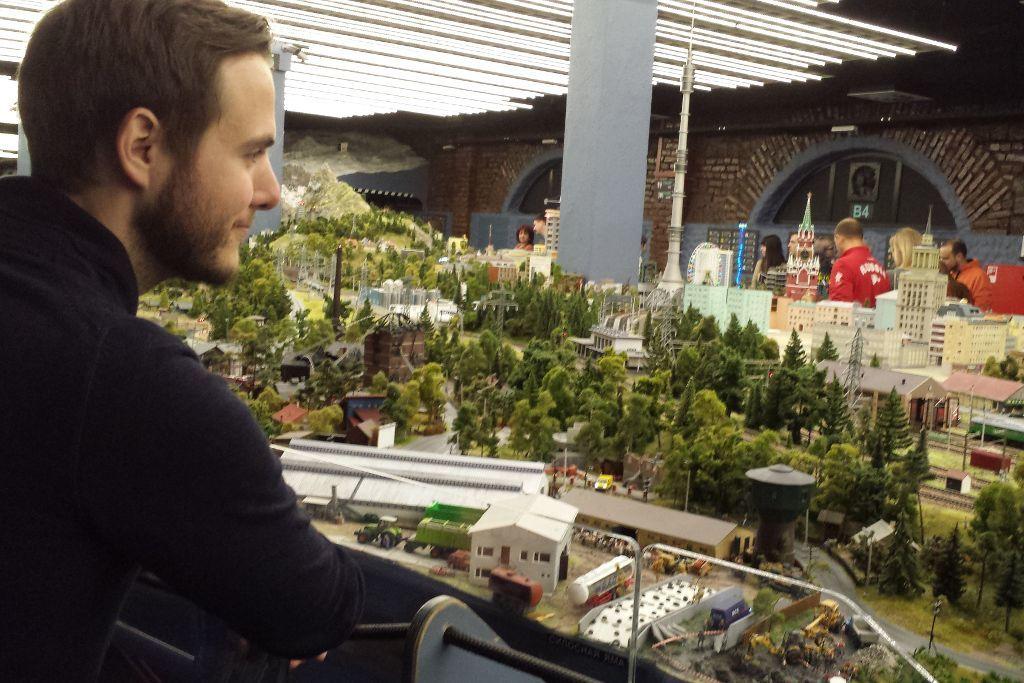 """Grand Maket Russia"" Miniaturmuseum in Sankt Petersburg"