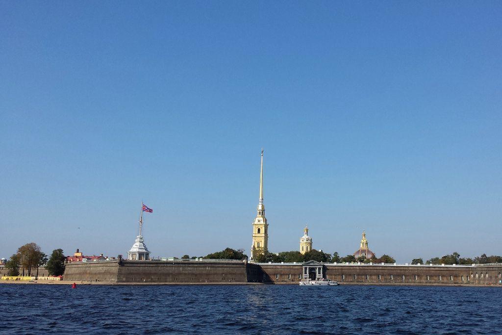 Die Peter-und-Paul-Festung in Sankt Petersburg