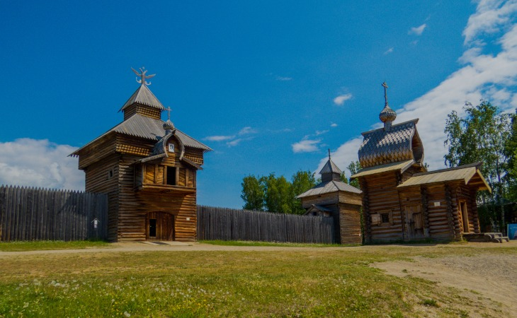 Taltsy Freilichtmuseum bei Irkutsk