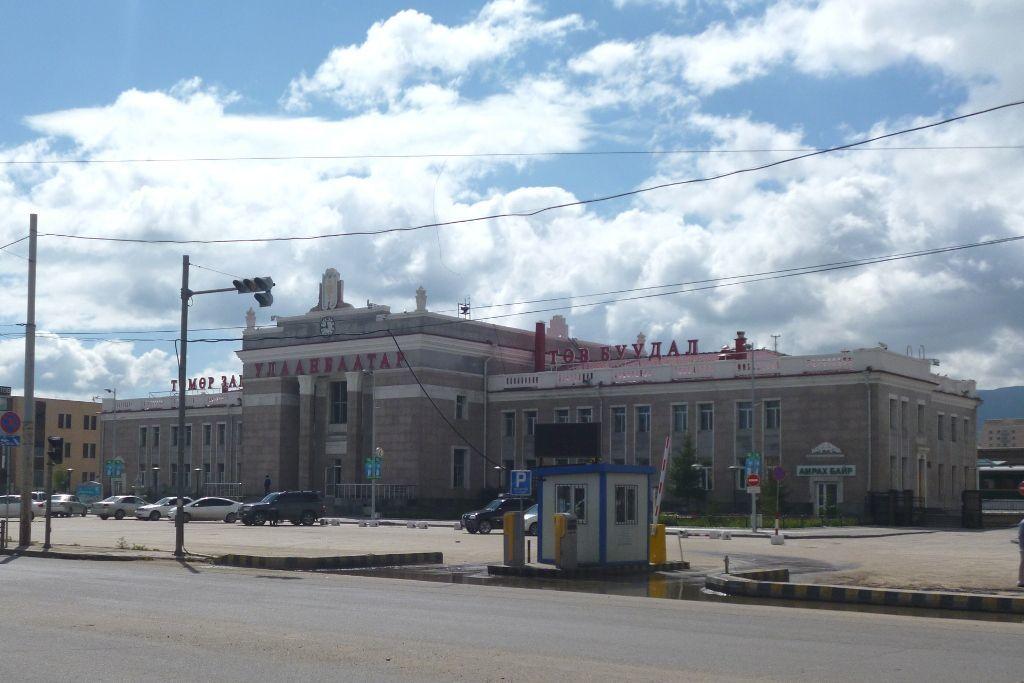 Bahnhof von Ulan-Bator