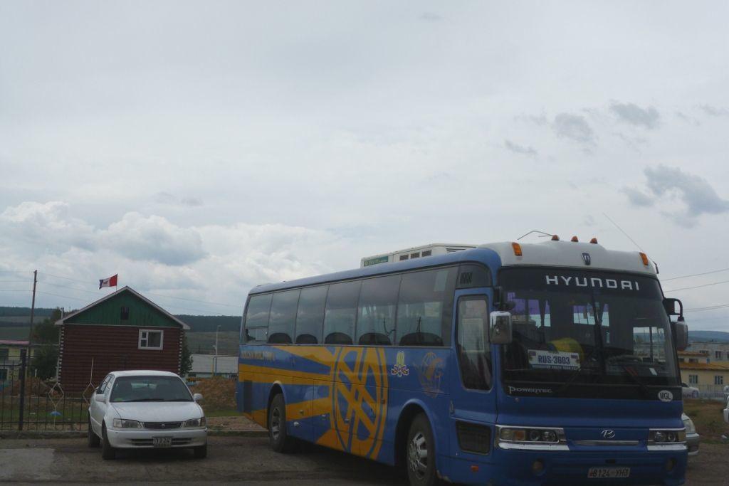 Bus von Ulan-Ude nach Ulan-Bator