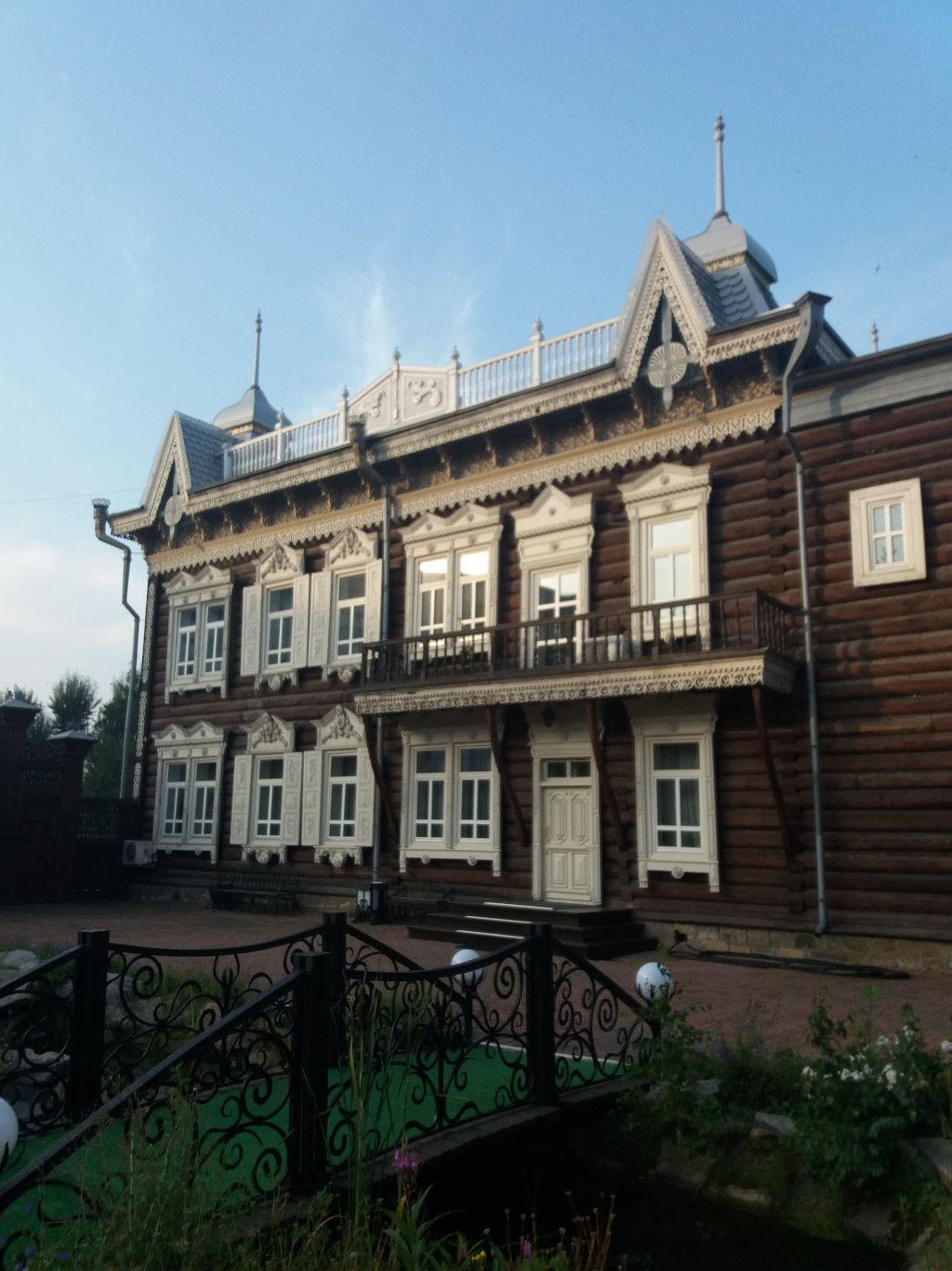 Europahaus Holzhaus in Irkutsk