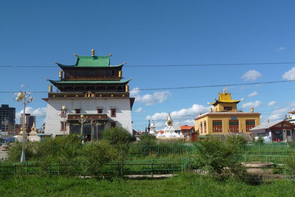 Gandan Kloster in Ulan-Bator