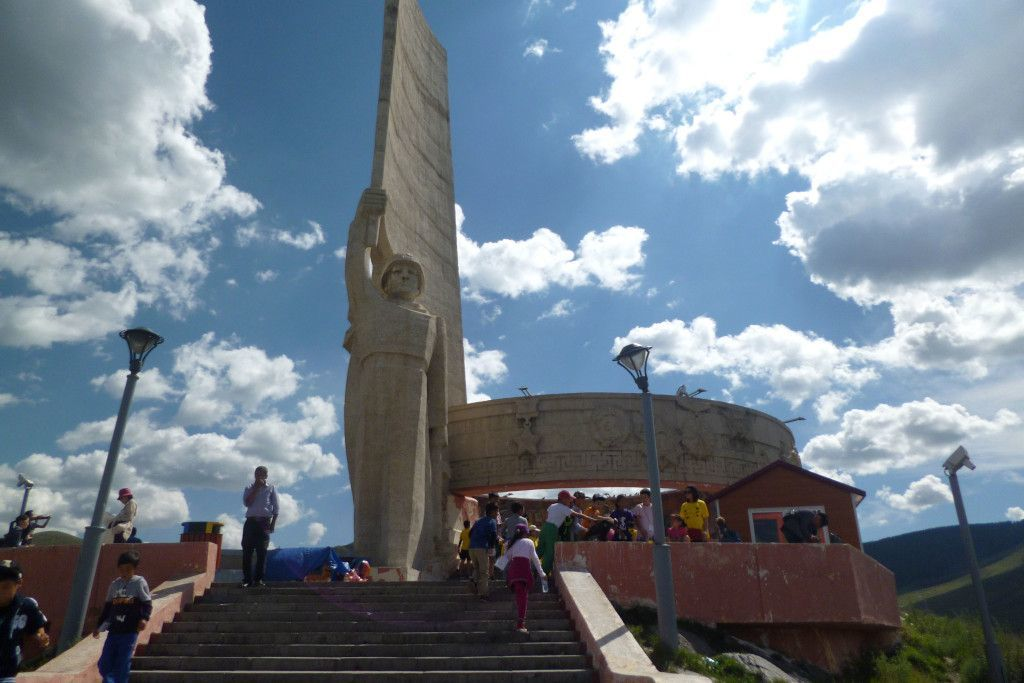 Dsaisan Gedenkstätte in Ulan-Bator