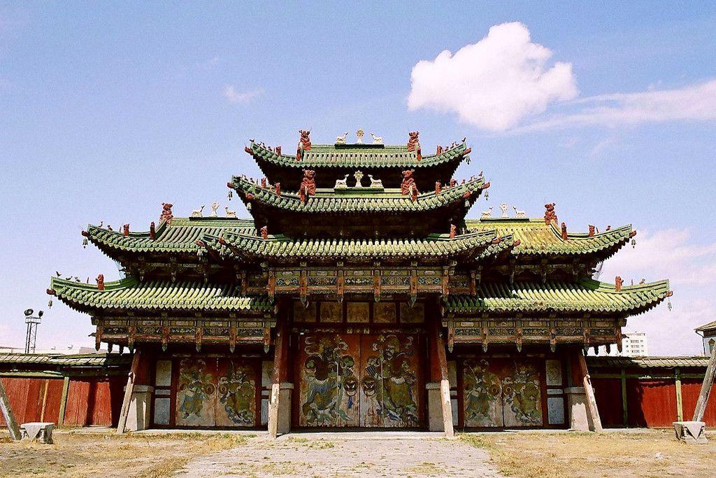 Winterpalast des Bogd Khan Palasts in Ulan-Bator