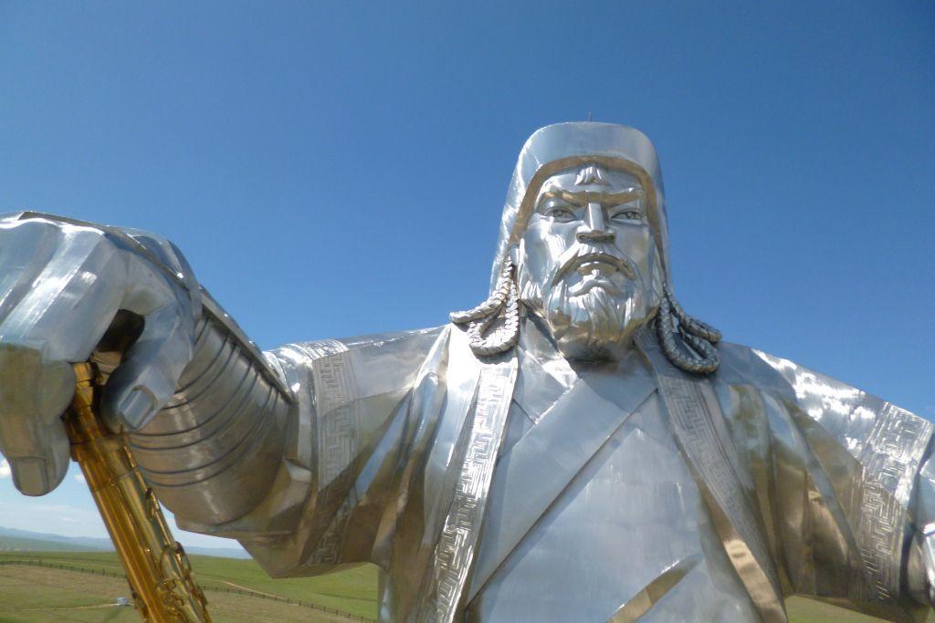 Dschingis Khan Denkmal von der Aussichtsplattform aus