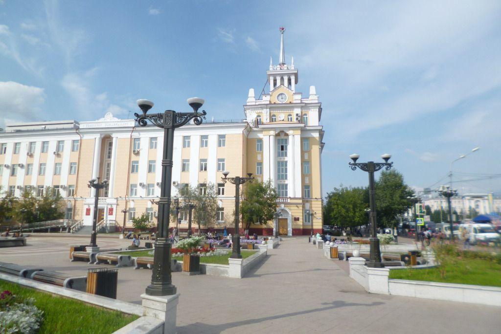 Gebäude der Stadtverwaltung in Ulan-Ude