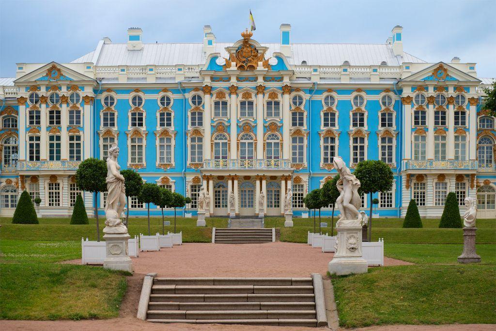 Katharinenpalast in Puschkin bei Sankt Petersburg