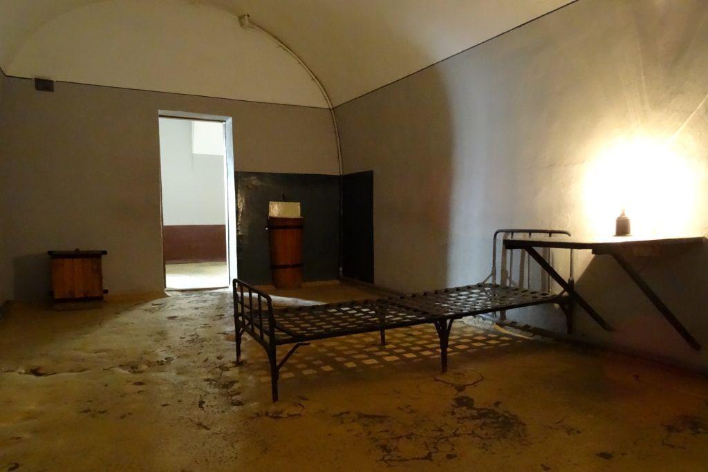 Gefängniszimmer in der Peter-und-Paul-Festung in Sankt Petersburg