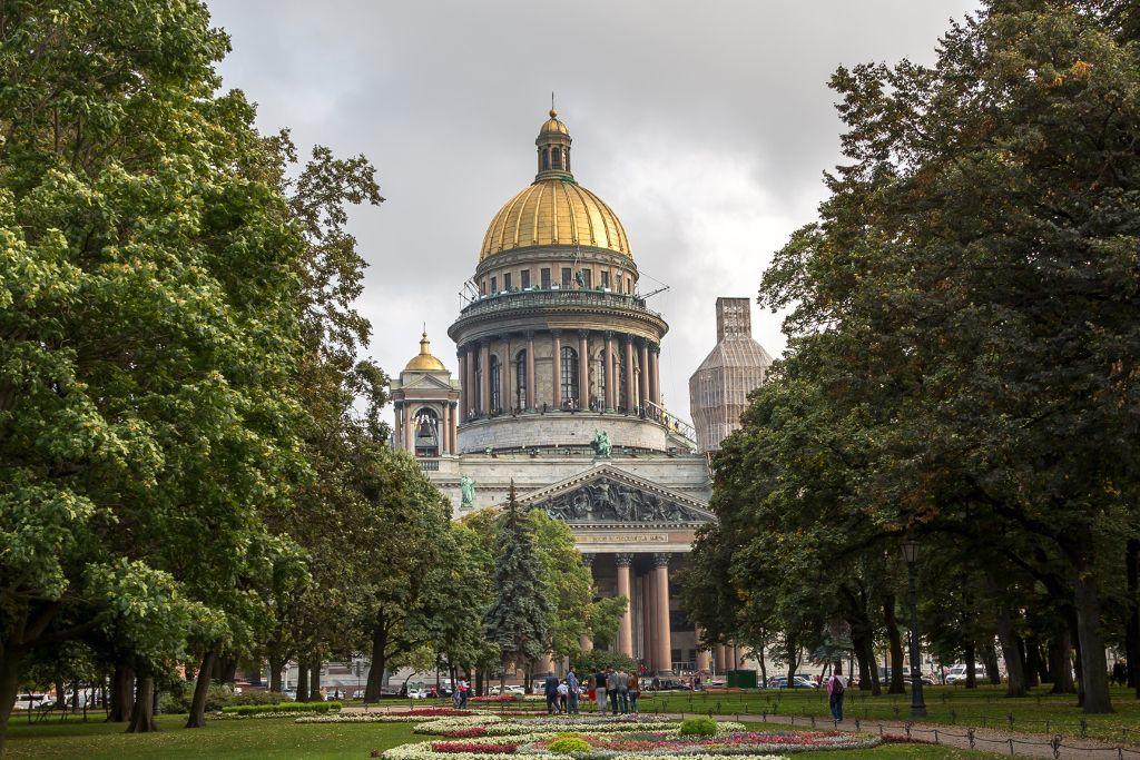 St. Isaak Kathedrale in Sankt Petersburg