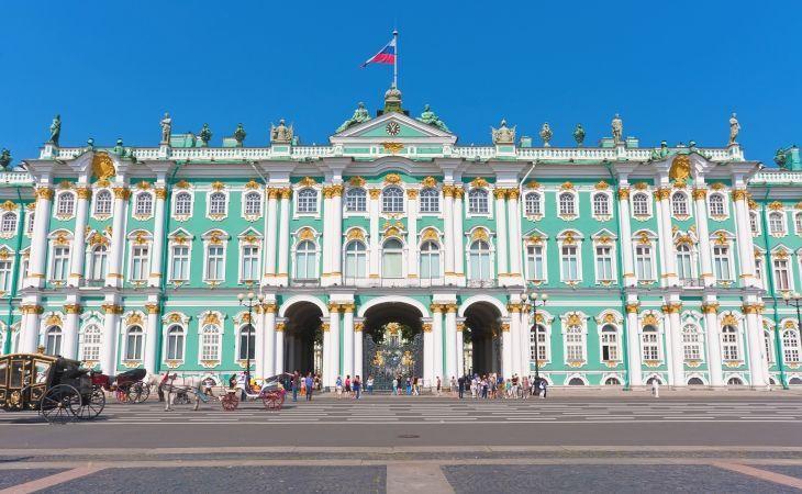 Winterpalast der Eremitage in Sankt Petersburg