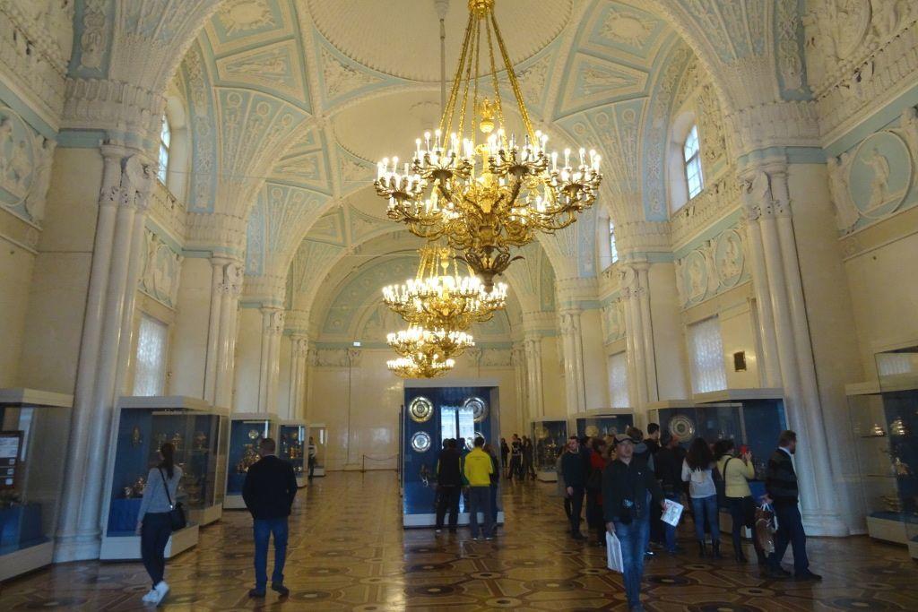 Raum in der Eremitage in Sankt Petersburg