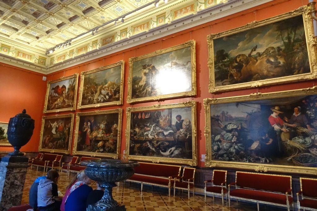 Gemälde in der Eremitage in Sankt Petersburg