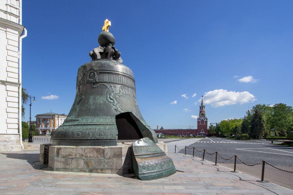 Zargenglocke im Kreml in Moskau