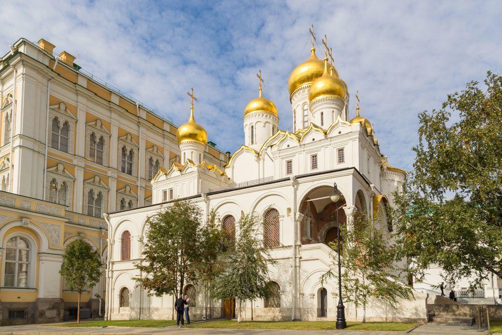 Mariä-Verkündigungs-Kathedrale im Kreml in Moskau