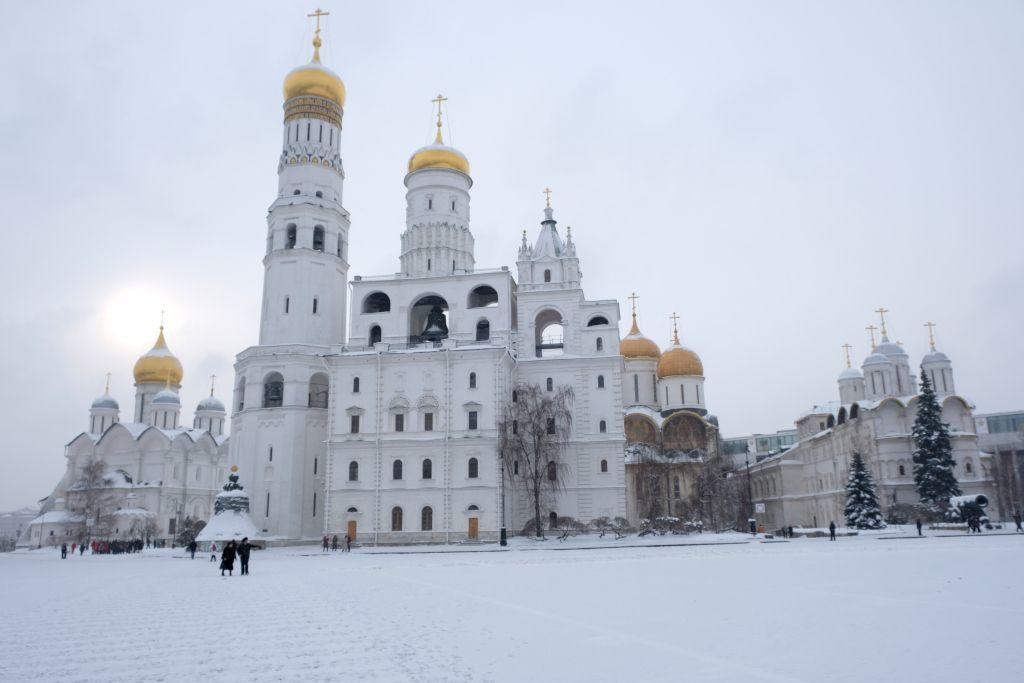 Glockenturm Iwan der Große im Kreml Moskau