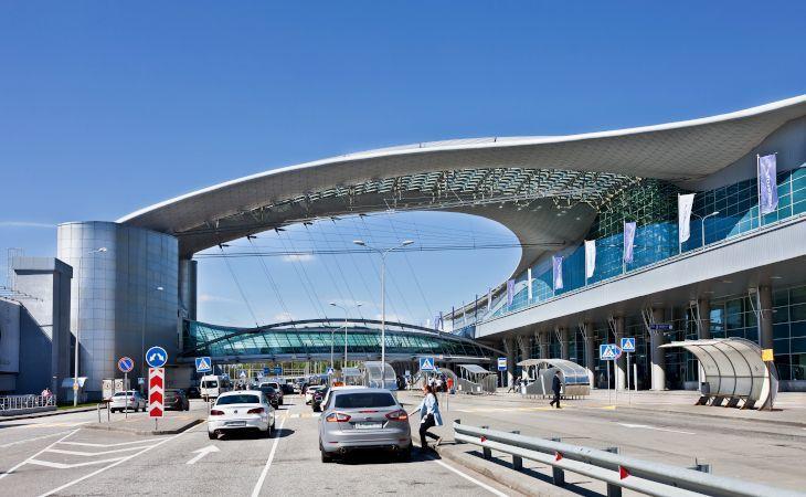 Flughafen Scheremetjewo in Moskau Terminal D