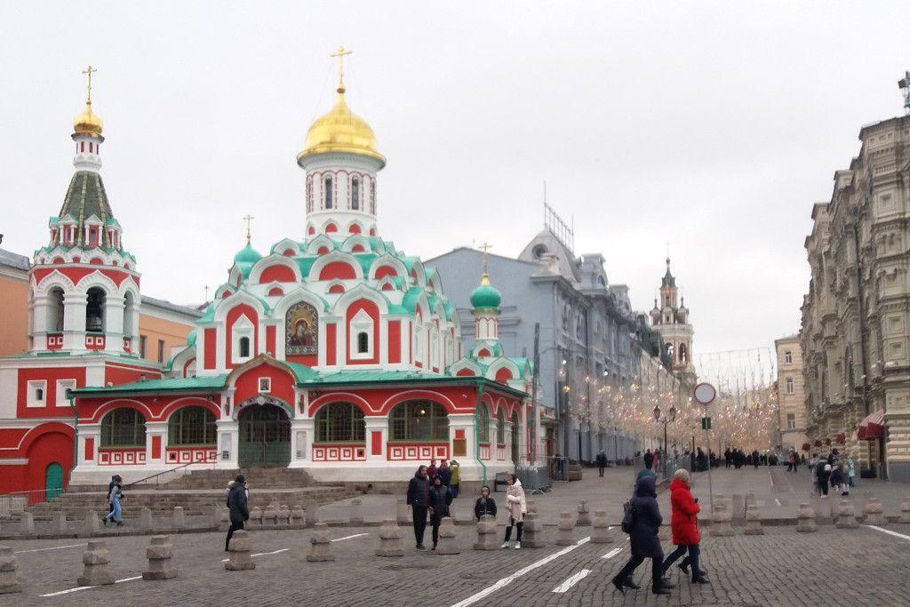 Kasaner Kathedrale auf dem Roten Platz
