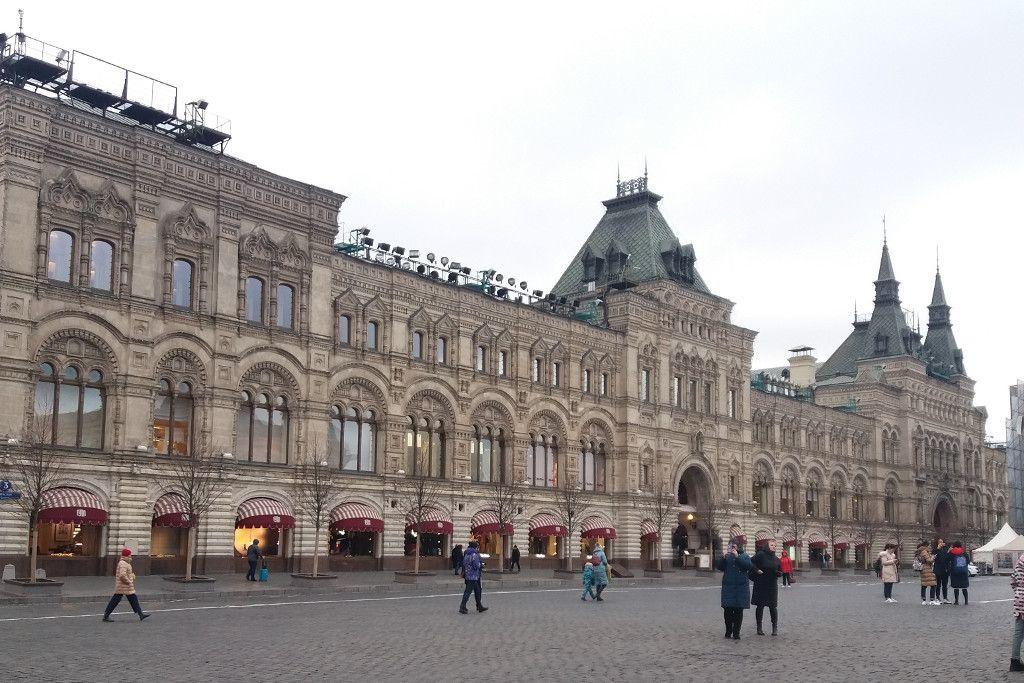GUM Kaufhaus auf dem Roten Platz