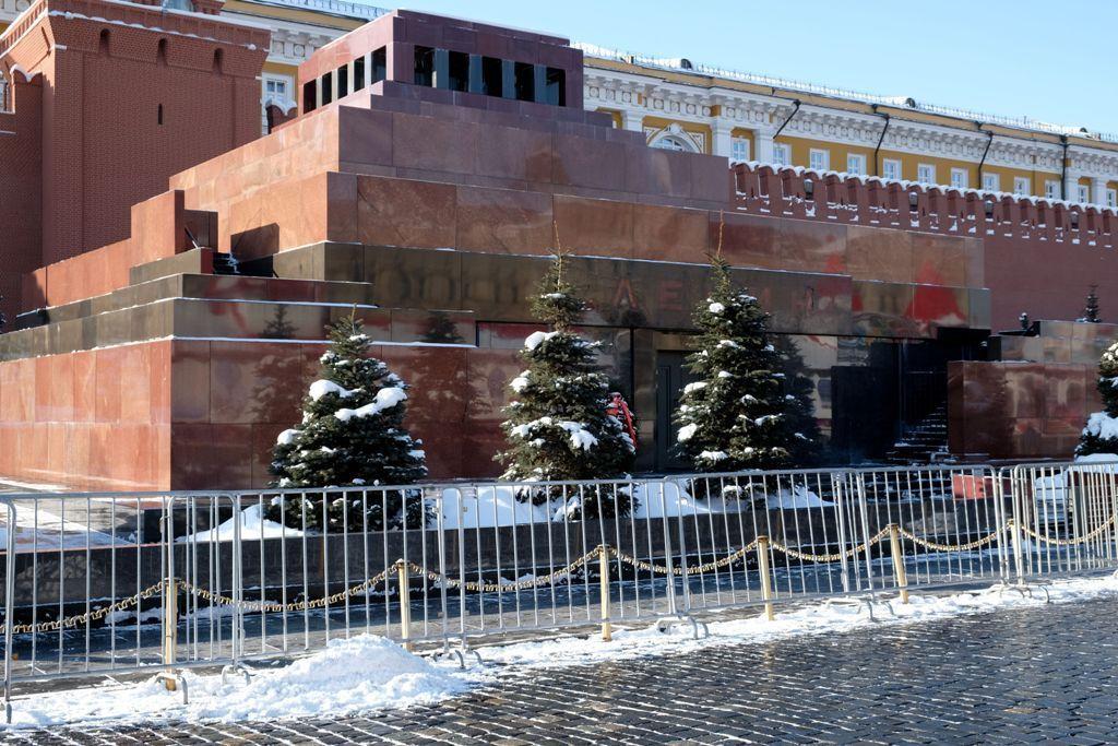 Lenin Mausoleum auf dem Roten Platz in Moskau