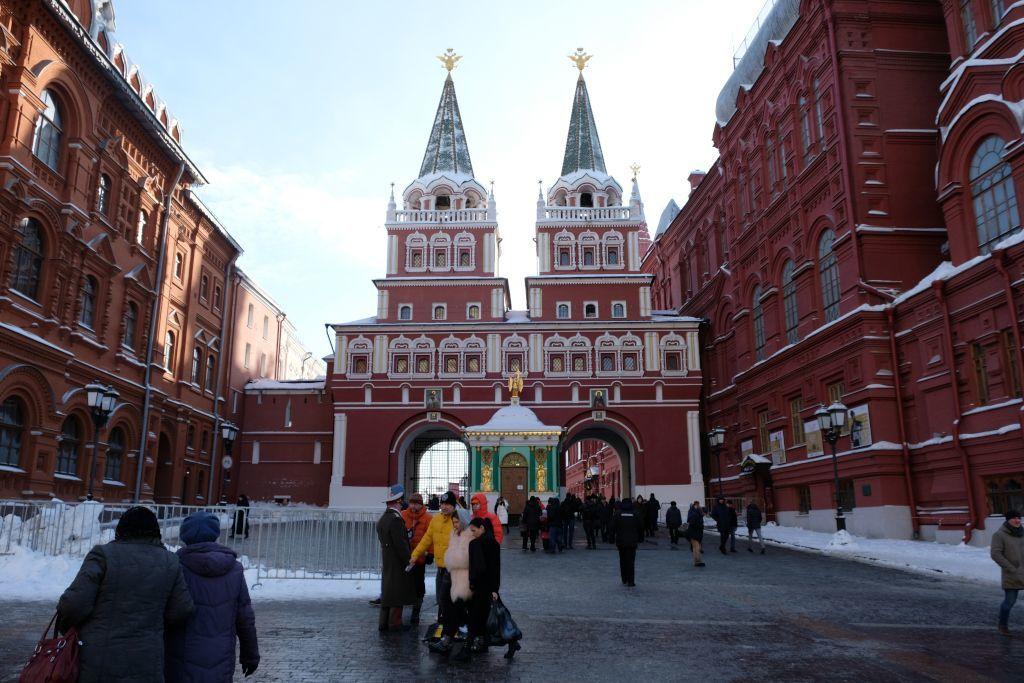 Auferstehungstor als Eingang zum Roten Platz