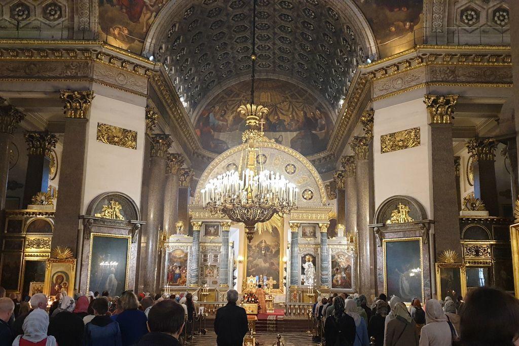 Altar in der Kasaner Kathedrale