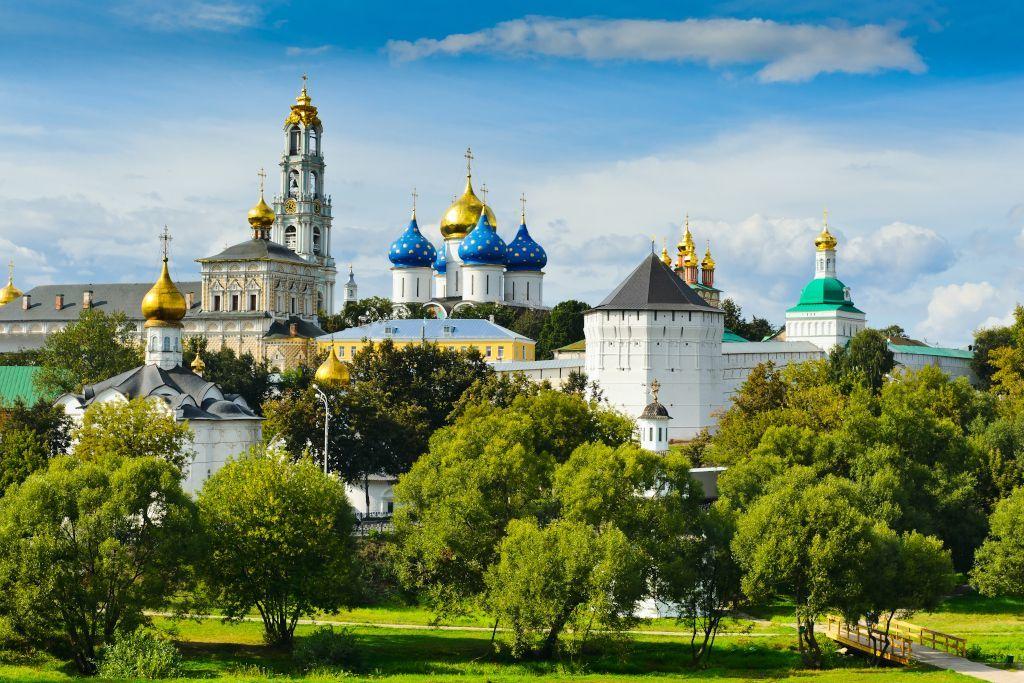 Dreifaltigkeitskloster in Sergijew Possad am Goldenen Ring