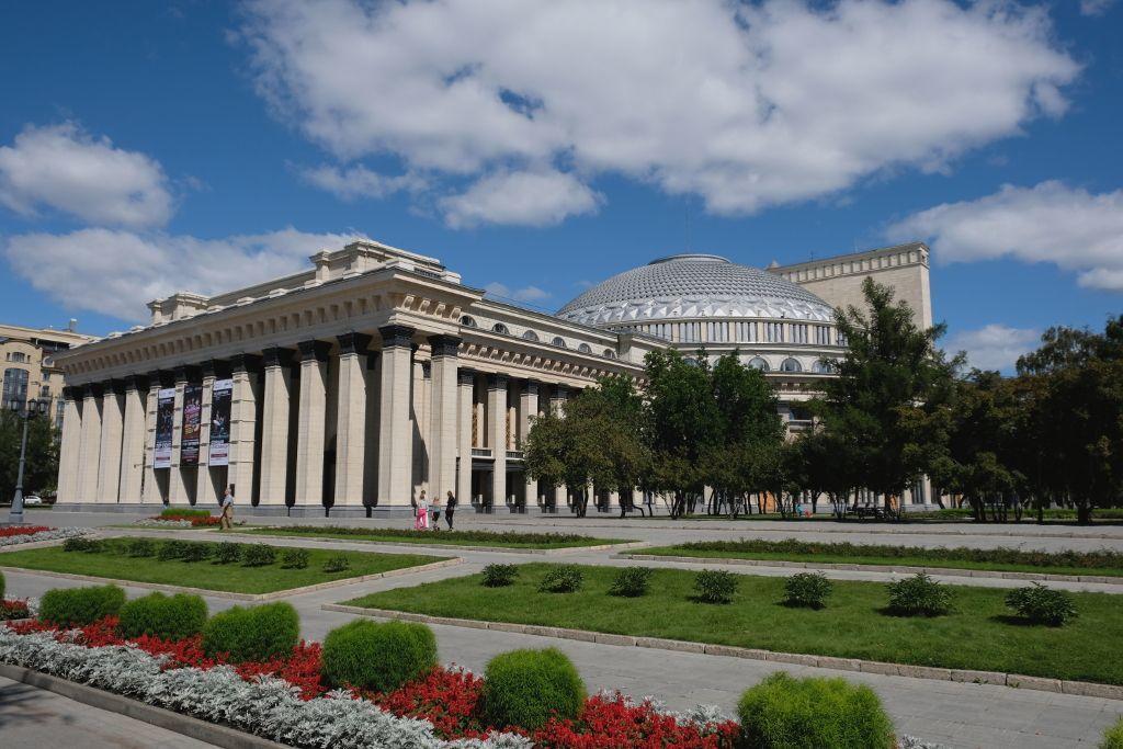Opernhaus in Nowosibirsk