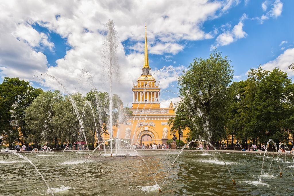 Admiralitätsgebäude in Sankt Petersburg