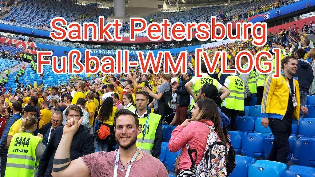 Video über eine Reise zur Fußball Weltmeisterschaft 2018 nach Sankt Petersburg